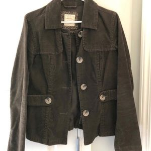 EUC old navy corduroy cropped jacket with pockets
